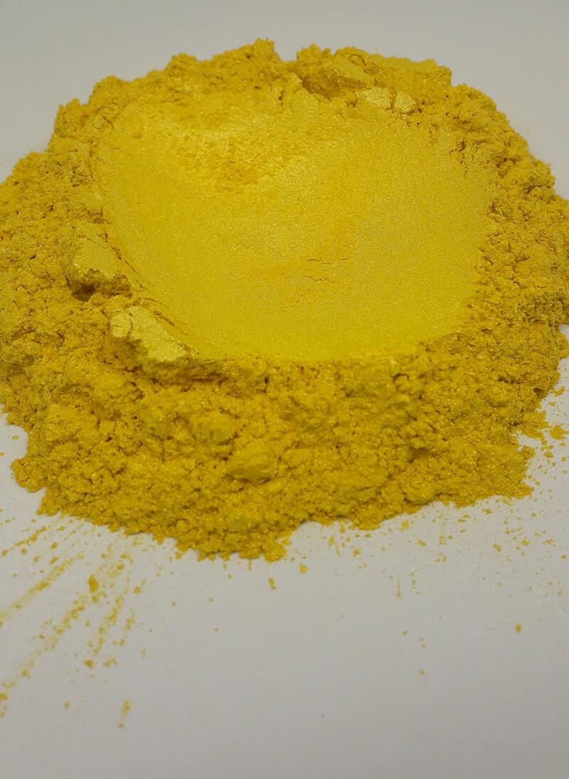 Sarı mika sabun boyası