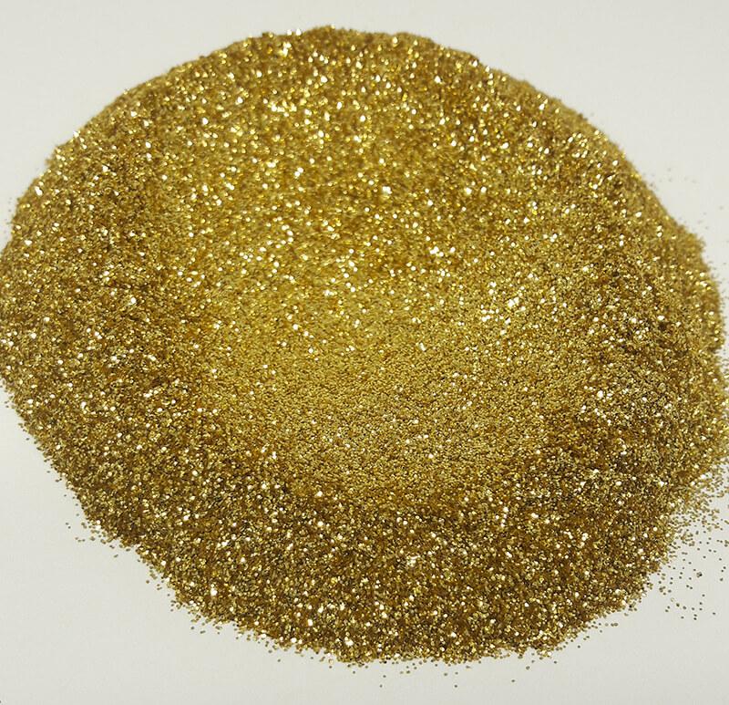 Simli Altın mika sabun boyası