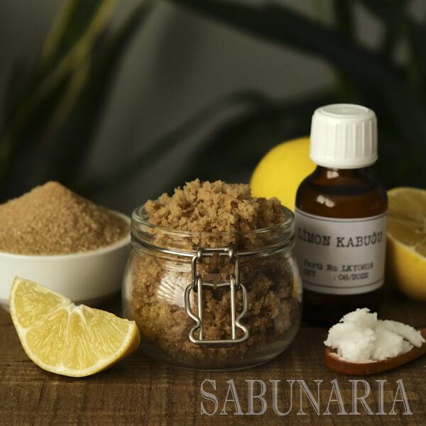 Limon Şeker Bazlı Body Scrub