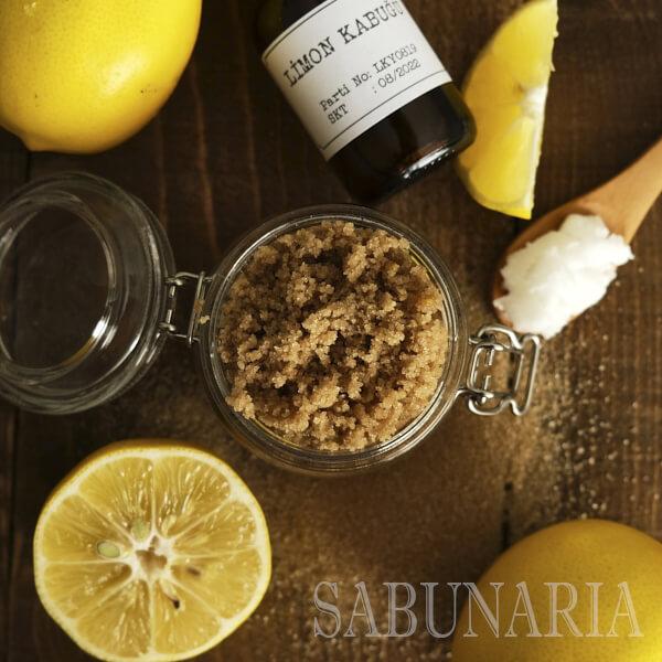 Limon Şekerli Vücut Peelingi